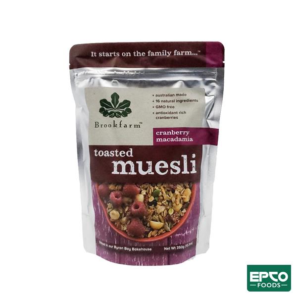 Toasted Muesli – EPCO FOODS – 350gr